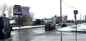 Наружная реклама на юниполе. размещение в Пинске