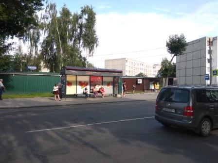 Изготовление, размещение рекламы на автобусных остановках