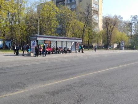 """реклама на остановке """"м-н западный"""" (сторона рынка), сторона Б"""